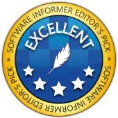 Software Informer Editor's pick award  - 5 star excellent